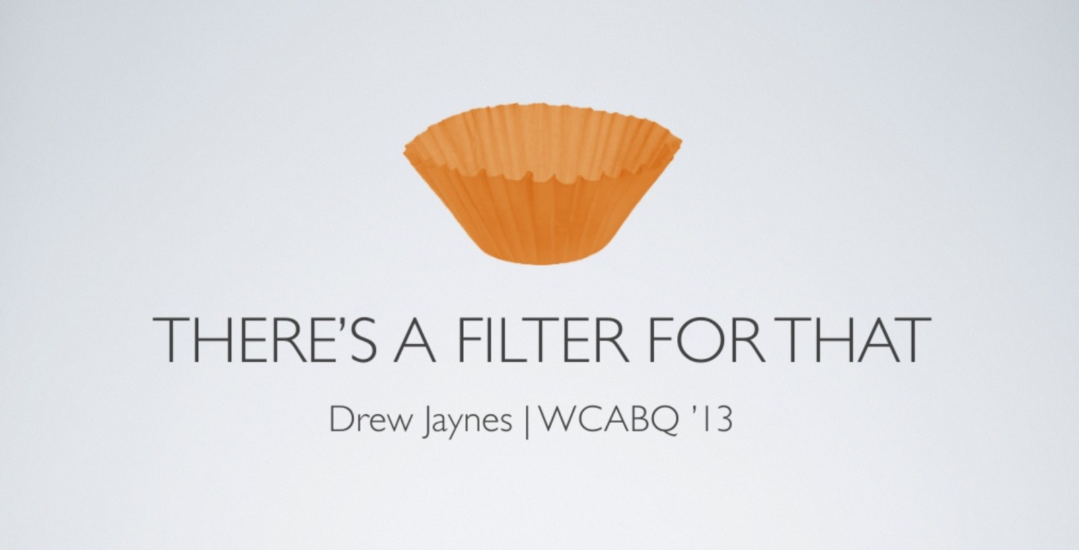 """Drew Jaynes: Useful WordPress filters – A summary of """"There's a filter for that"""""""
